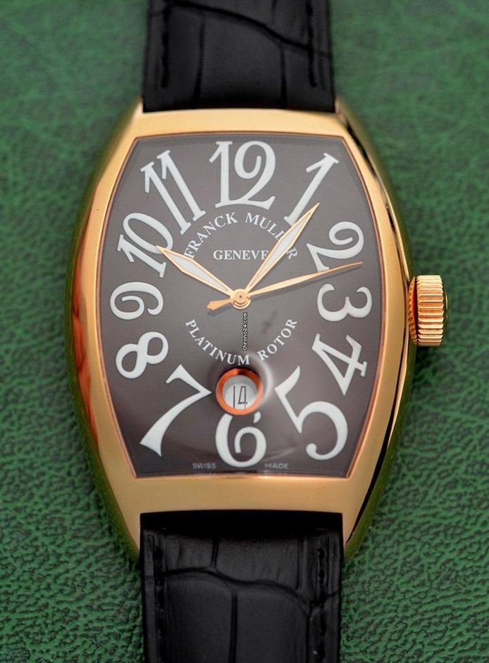 Franck Muller Casablanca 8880 SC DT 2012 подержанные