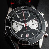 Eberhard & Co. Contograf Steel 42mm Black No numerals
