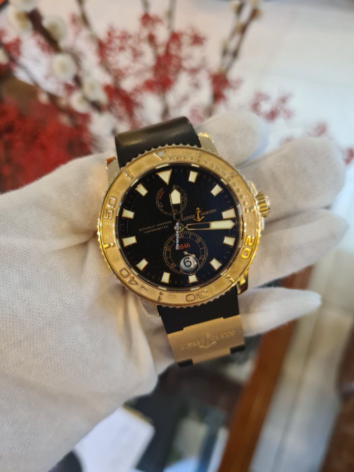 Ulysse Nardin Maxi Marine Diver 266-33 подержанные