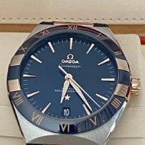 Omega Constellation Gold/Stahl 41mm Blau Deutschland, Reutlingen