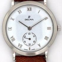 Delma Good Platinum 34mm Manual winding