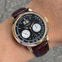 A. Lange & Söhne Datograph Rose gold 41mm Black