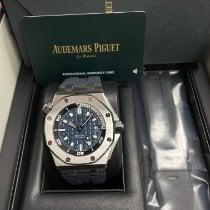 Audemars Piguet Royal Oak Offshore Diver Steel 42mm Blue United States of America, New York, New York