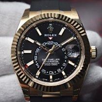 Rolex Automatic Black 42mm new Sky-Dweller