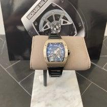 Richard Mille RM 005 Hvitt gull 38mm Transparent Arabisk
