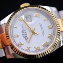 Rolex Datejust Gold/Steel 36mm White United Kingdom, Whitby- North Yorkshire