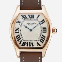 Cartier Tortue 2763K Très bon Or rose Remontage manuel