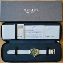 NOMOS Club Automat Steel 40mm Green Arabic numerals United States of America, California, Palo Alto