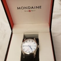 Mondaine Steel 42mm Automatic A132.30345.11SBB pre-owned United States of America, Connecticut, Durham