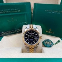 Rolex Sky-Dweller Gold/Steel 42mm Gold No numerals United States of America, New York, New York