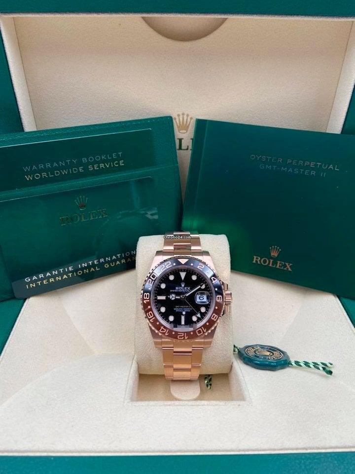 Rolex GMT-Master II 126715CHNR 2021 new