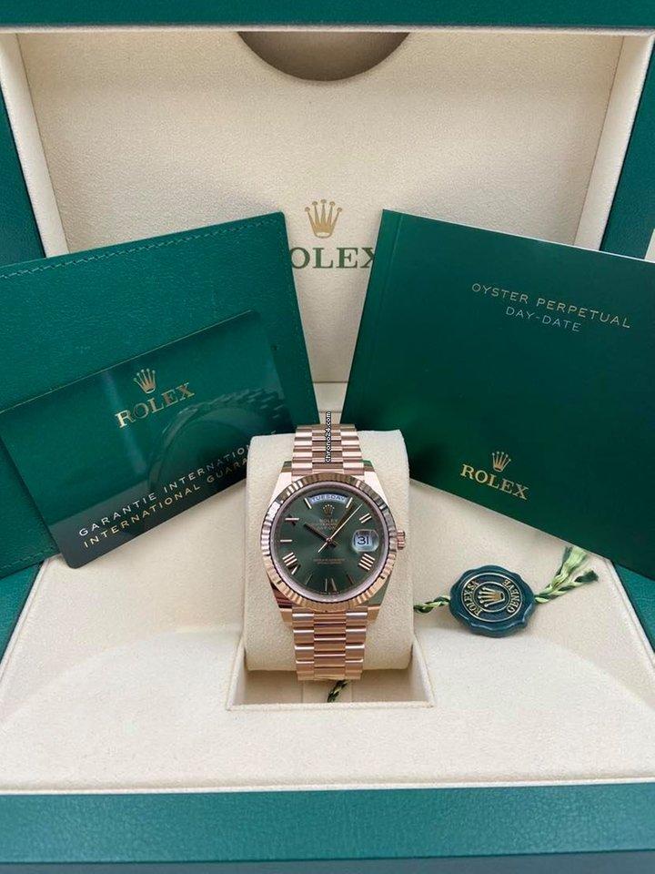 Rolex Day-Date 40 228235 2021 new