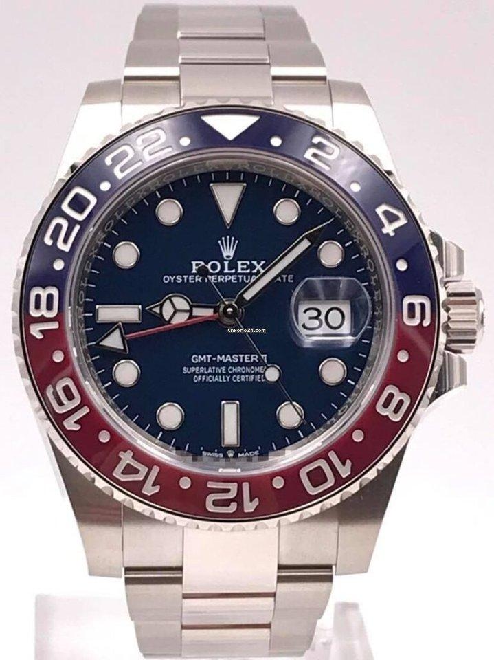 Rolex GMT-Master II 126719BLRO 2020 new