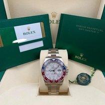 Rolex GMT-Master II White gold 40mm Grey No numerals United States of America, New York, New York