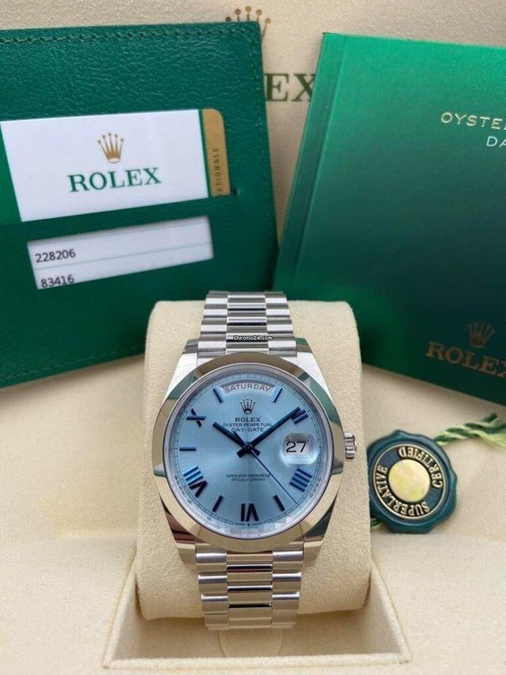 Rolex Day-Date 40 228206 2020 new