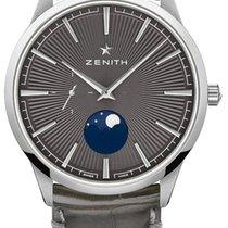 Zenith 03.3100.692/03.C923 Steel 2021 Elite 40.5mm new