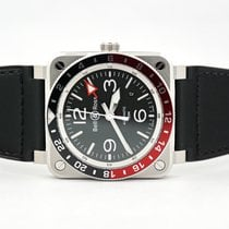 Bell & Ross Steel Automatic Black Arabic numerals 42mm new BR 03