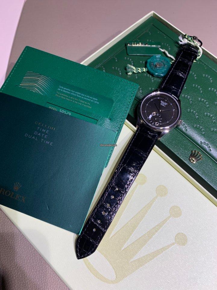 Rolex Cellini Dual Time 50529 2021 новые