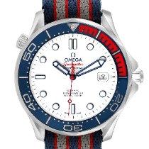 Omega Seamaster Diver 300 M Otel 41mm Alb