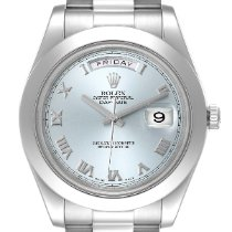 Rolex (ロレックス) 218206 プラチナ 2010 デイデイト II 41mm 中古