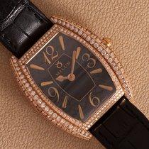 Milus Złoto różowe Kwarcowy Czarny Arabskie 31mm nowość
