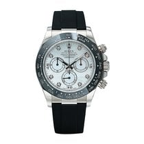 Rolex Daytona White gold 40mm Mother of pearl No numerals