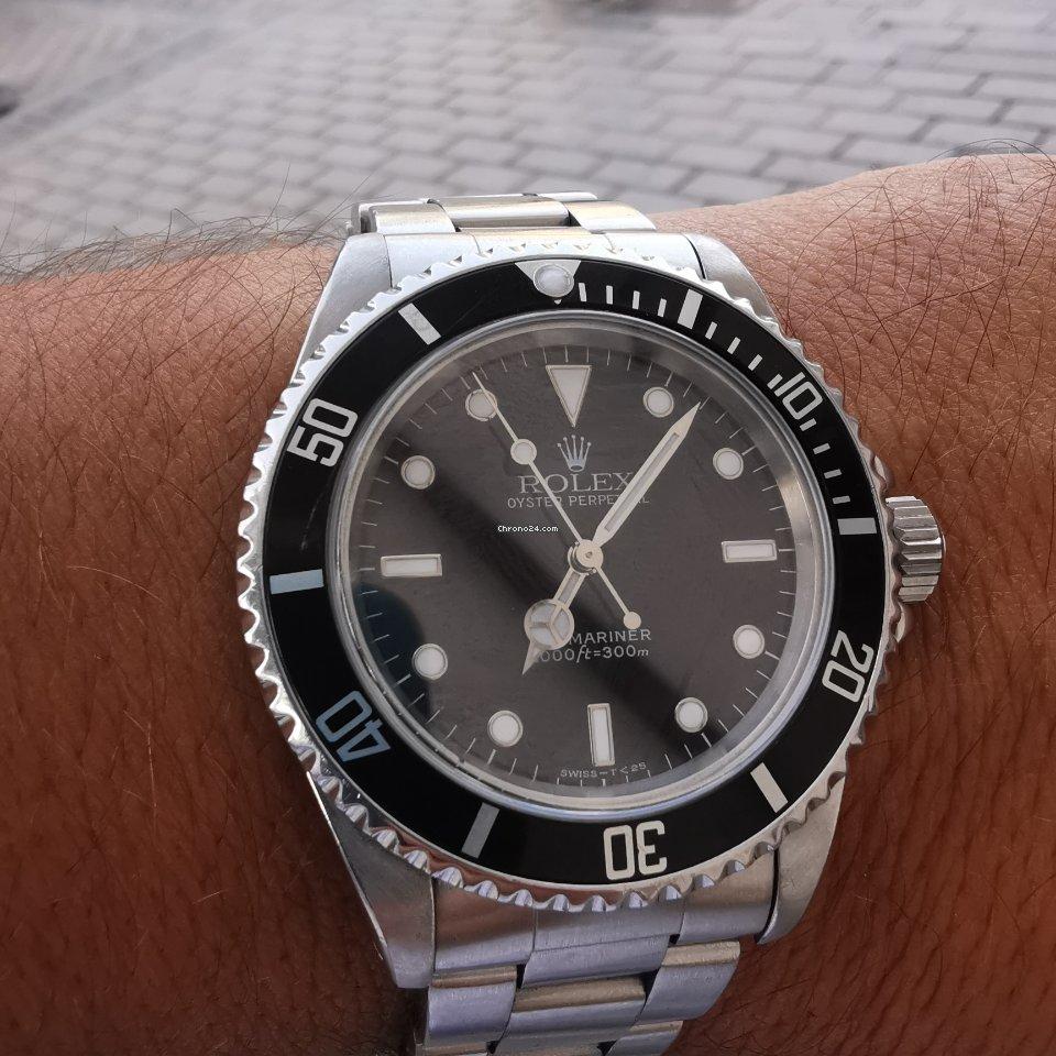 Rolex Submariner (No Date) 14060 ikinci el