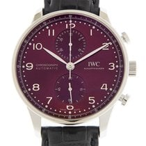 IWC Portuguese Chronograph Steel 41mm Red