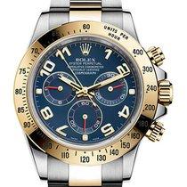 Rolex Daytona Gold/Steel 40mm Blue No numerals