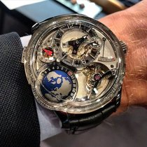 Greubel Forsey GMT White gold Silver
