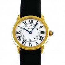Cartier Ronde Solo de Cartier Yellow gold 29mm Silver