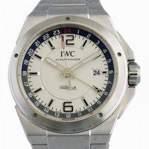 IWC Ingenieur Dual Time Acero 43mm Blanco