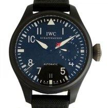 IWC Big Pilot Top Gun nuevo Automático Reloj con estuche y documentos originales IW501901