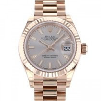 Rolex Red gold Automatic 28mm new Lady-Datejust