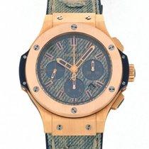 Hublot Big Bang Jeans nuevo Automático Cronógrafo Reloj con estuche y documentos originales 301.PL.2780.NR.JEANS