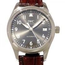 IWC 파일럿츠 왓치 오토매틱 36 스틸 36mm 회색