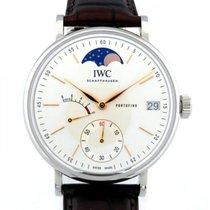 IWC Portofino Hand-Wound IW516401 Nuevo Acero 45mm Cuerda manual