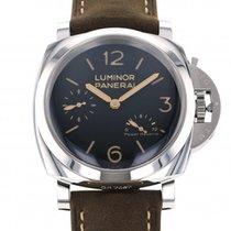 Panerai Luminor 1950 3 Days Power Reserve nuevo Cuerda manual Reloj con estuche y documentos originales PAM00423