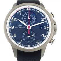 IWC (アイ・ダブリュー・シー) ポルトギーゼ ヨットクラブ クロノグラフ 新品 自動巻き クロノグラフ 正規のボックスと正規の書類付属の時計 IW390212