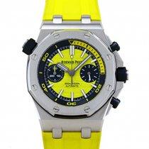 Audemars Piguet Royal Oak Offshore Diver Chronograph Steel 42mm Yellow