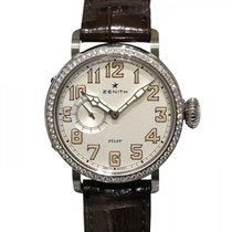 Zenith Pilot Type 20 Lady Staal 40mm Wit