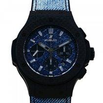 Hublot Big Bang Jeans Carbono 44mm Azul
