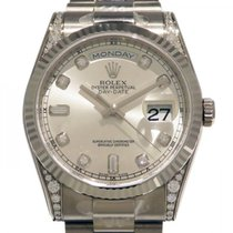 Rolex (ロレックス) Day-Date 新品 自動巻き 正規のボックスと正規の書類付属の時計 118339A