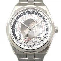 Vacheron Constantin Steel Automatic Silver 44mm new Overseas World Time