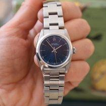 Rolex Oyster Perpetual 31 Stahl 31mm Blau Schweiz, Geneva