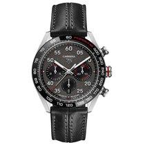 TAG Heuer Carrera Porsche Chronograph Special Edition Сталь 44mm Cерый Aрабские
