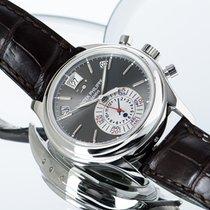 Patek Philippe Annual Calendar Chronograph 5960P-001 Foarte bună Platina 40.5mm Atomat