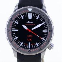 Sinn UX pre-owned 44mm Black Chronograph Date Rubber