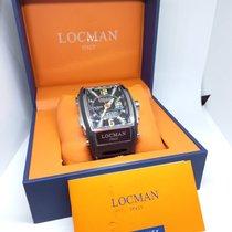 Locman Tremila Steel 44mm Black Arabic numerals