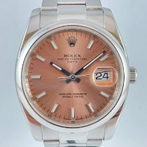 Rolex Oyster Perpetual Date Staal 34mm Roze Geen cijfers Nederland, Kerkrade